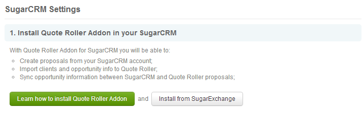 Sugar CRM settings - Top Only
